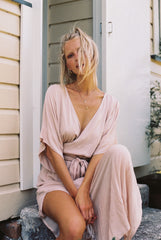 THE MELODY MAXI DRESS | BLUSH