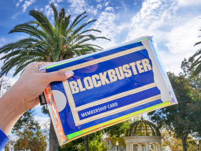 Hitting The Rewind Button With This Blockbuster Inspired Accessory!