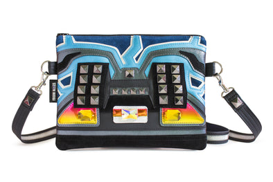 Lightning Strikes Purse With Detachable Wristlet