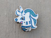 Unicorn Droid Hard Enamel Pin - *Seconds Sale*