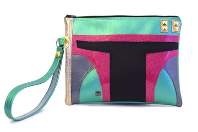 Bounty Hunter Clutch Bag With Wristlet