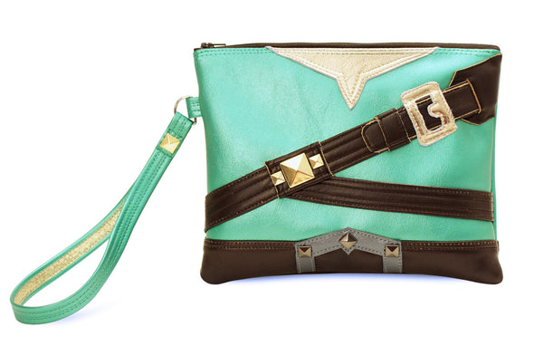 Legendary Clutch Bag With Wristlet