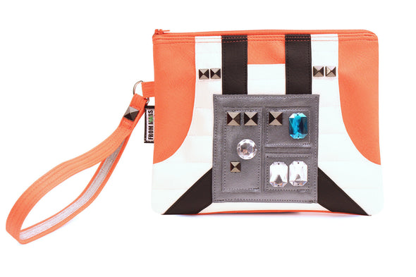 The Force Is Strong With This One Clutch Bag With Wristlet