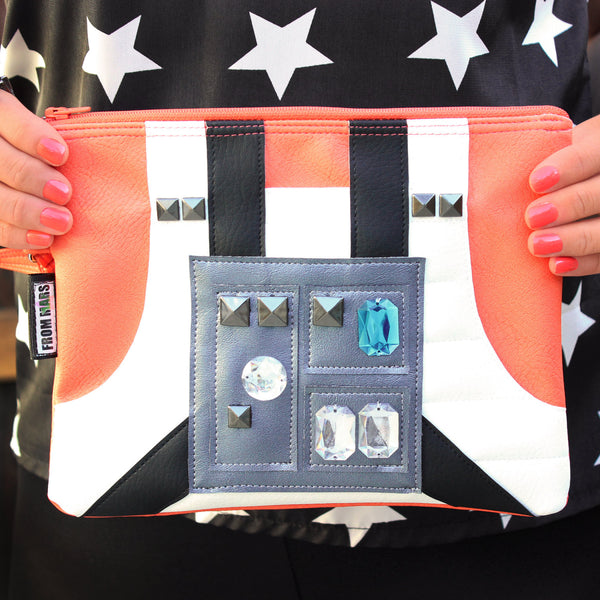The Force Is Strong With This One Clutch Bag With Wristlet | Purse | Geek Chic