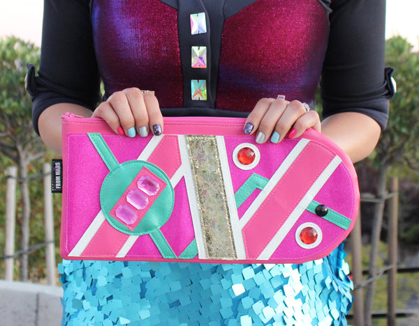 We Don't Need Roads Clutch | Purse | Geek Chic