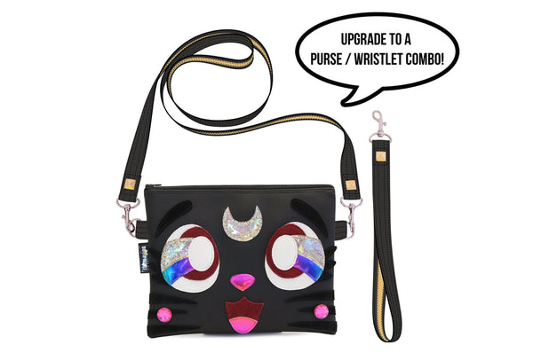 The Purrrfect Clutch Bag With Wristlet | Purse | Geek Chic
