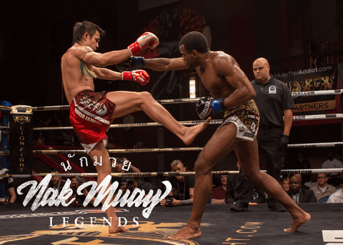 Muay Thai Lion Fight 36 Julian Nguyen v. Trevor Ragin
