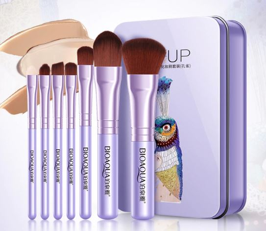 Foundation/Lip Makeup Brush Set