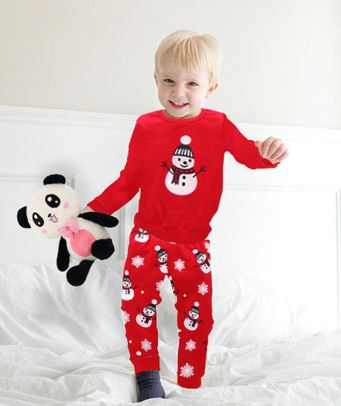 Snowman Sleepwear Clothing Set
