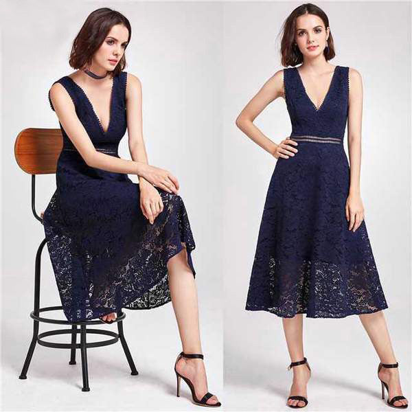 Elegant Lace Cocktail Dresses