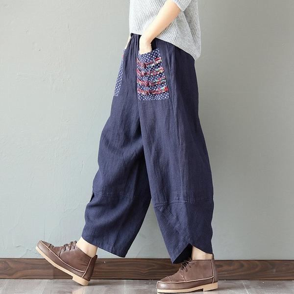 Casual Harem Wide Leg Pants