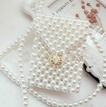 Pearls Shoulder Flap Handbags