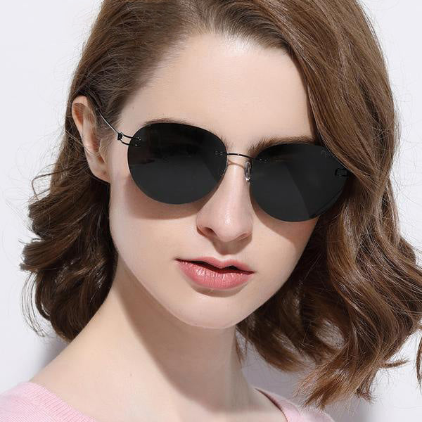 Ultralight Rimless Sunglasses