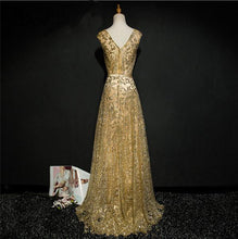 Bling Sequins A Line Gowns