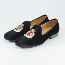 Slip On Velvet Shoes