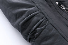 Warm Thick PU Leather Jackets