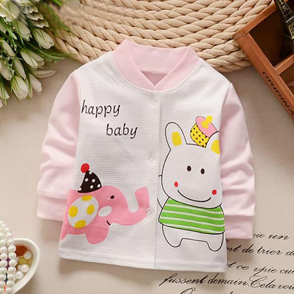 Cartoon Printed Jacket Coat