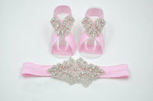 Cute Rhinestone Sandals Set
