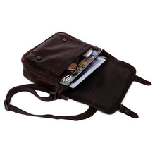 Cowhide Leather Messenger Bag