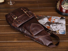Cowhide Leather Cross-body Bag