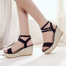 Fish Mouth Platform High Heels Sandals