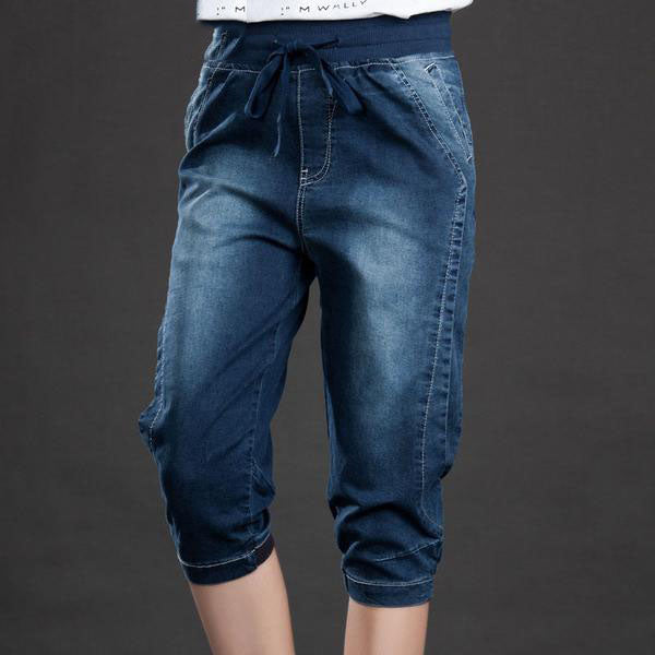 Seven Points Drawstring Pants