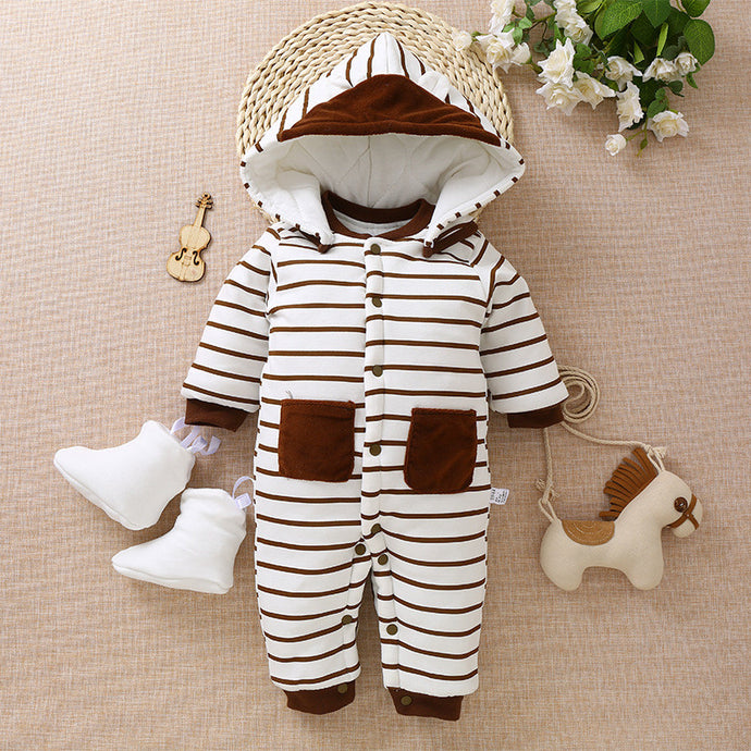 Winter Fleece Romper