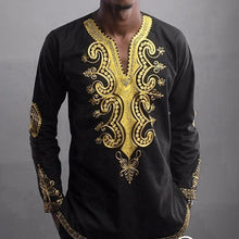 Hipster African Long Sleeve Top