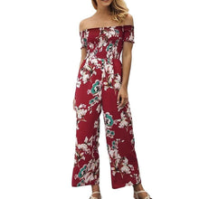 Elegant Long Floral Jumpsuits