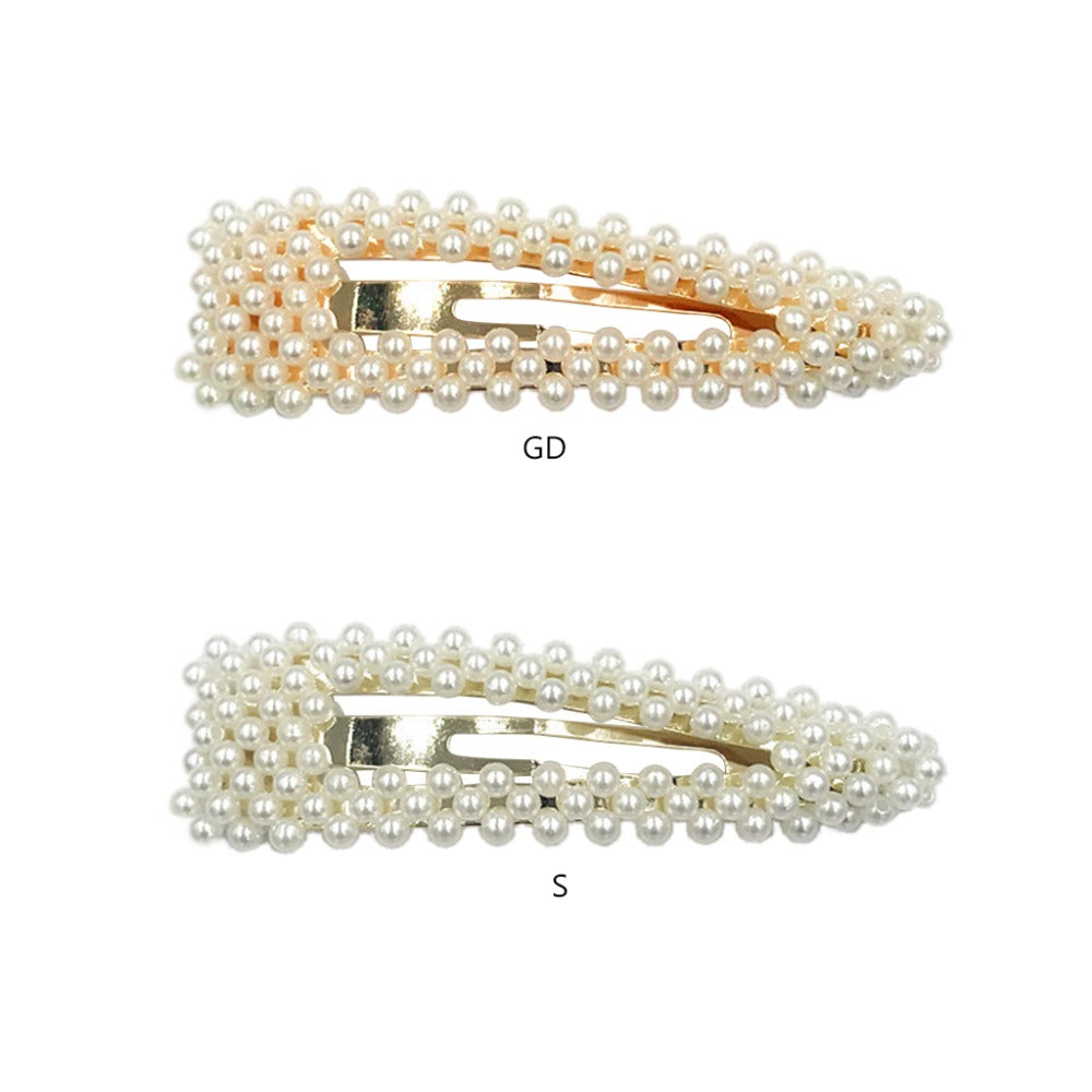 Elegant Fashion Pearl Hair Clips
