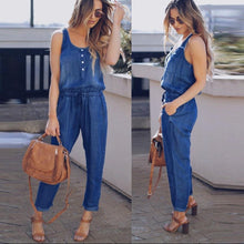 Waist Strappy Long Jumpsuit