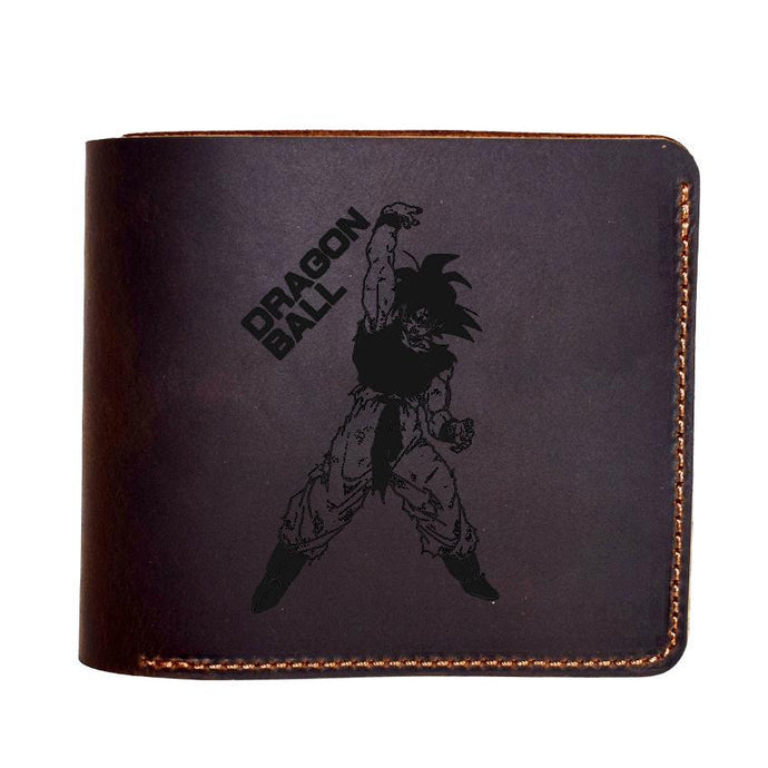 Engraved Anime Genuine Leather Wallet