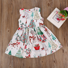 Sleeveless Deer Party Dress