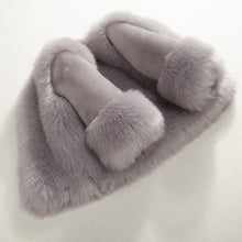 Artificial Rabbit Fur Jacket