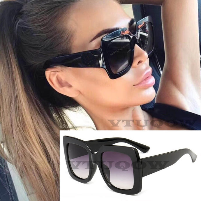 Oversized Lady Sunglasses
