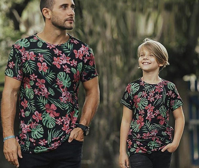 9beeff525728 Family Matching Outfit T Shirt