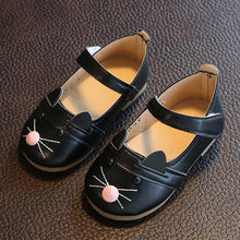 Princess Cat Leather Shoes