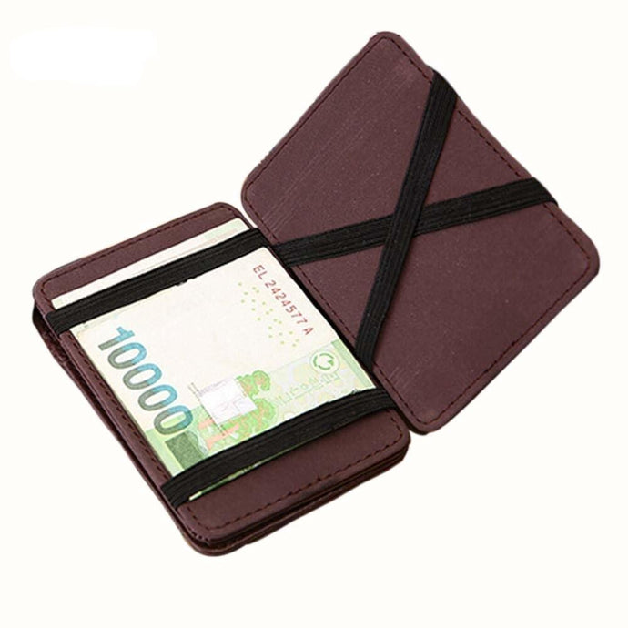 Mini Bifold Leather Wallet