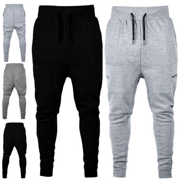 Straight Trousers Jogger Pants