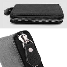 Genuine Leather Black Bifold Wallet