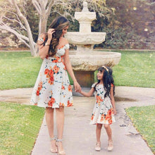 Floral Off Shoulder Family Outfit