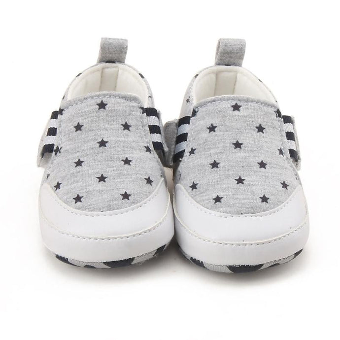 Stars Design Soft Sole Shoes
