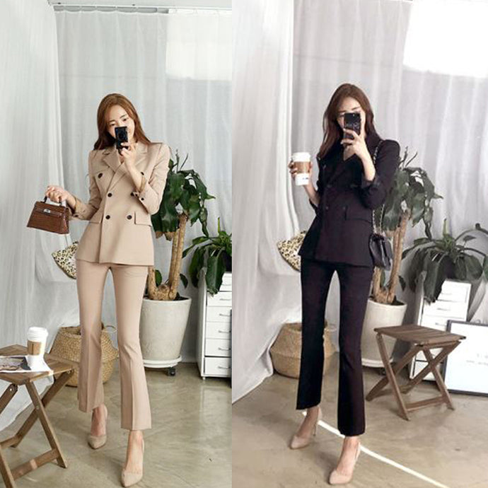 Office Lady Blazer Jacket and Pants