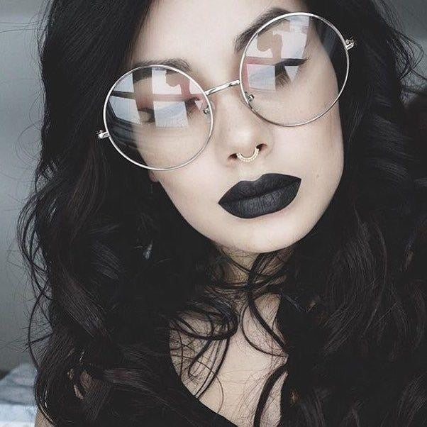 Oversized Clear Round Glasses