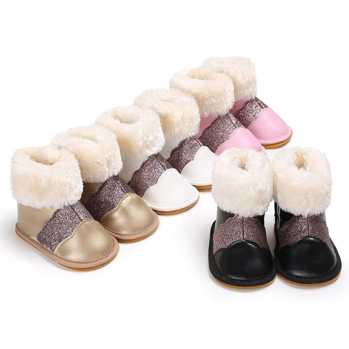 Soft Rubber Snow Boots