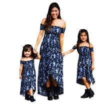Summer Family Dress Matching Outfit