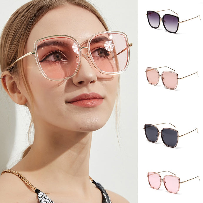 Retro Vintage Square Sunglasses