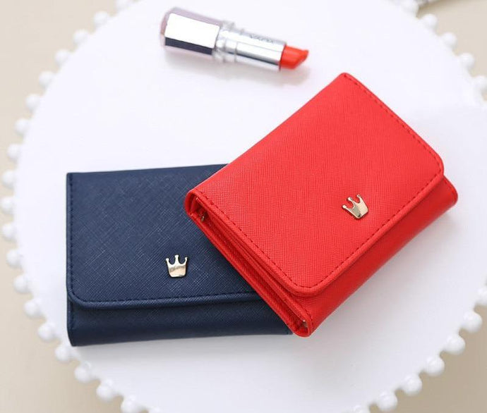 Crown Decorated Mini Purse