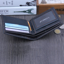 Leather Bifold Business Wallet