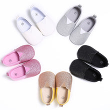 Cute Crib Bling Moccasin Shoes